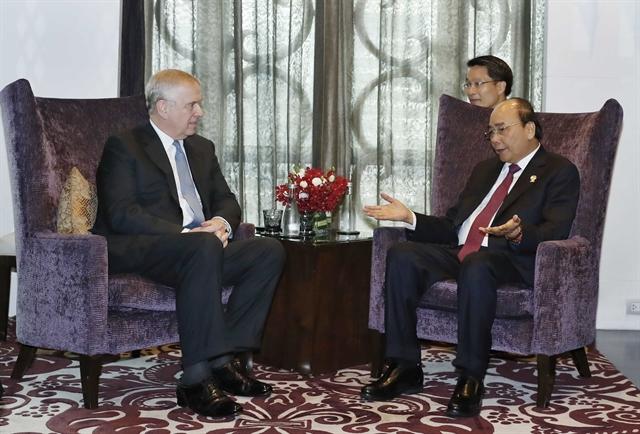 PM Nguyễn Xuân Phúc holds meetings at ASEAN Summit